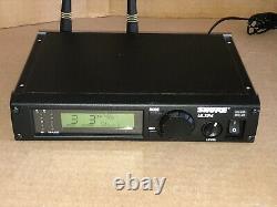 Shure ULXP4 / ULX1-M1 Wireless Microphone Receiver / Transmitter 662-698MHz