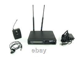 Shure ULXP4 Wireless Receiver, ULX1-M1 Transmitter, WL184 Mic & AC Adapter