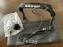 Shure ULXS14-J1 wireless mic receiver & transmitter- 554-590 MHz- WH20 Headset