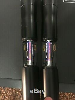 Shure UR4D & 2 UR2 J5 578-638 wireless microphone transmitters & receivers UHFR