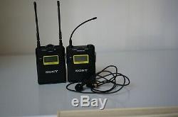 Sony UTX-B03 Wireless Transmitter & URX-P03 Receiver with Sony lavalier mic