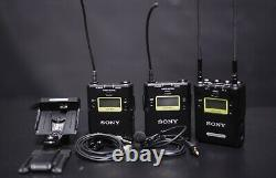 Sony UWP-D Dual Receiver / 2-Transmitter Wireless Kit (UC14 470 to 542 MHz)