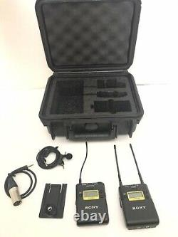 Sony UWP-D11 Wireless Mic System with UTX-B03 Transmitter and URX-P03 Receiver