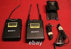 Sony Wireless Audio Transmitter UTX-B03 & Receiver URX-P03, Excellent, Free Ship