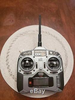 Spectrum DX6i Radio, AR6200 Receiver, (4) Futaba S3004 Servos, JR3200 4-Cell Bat