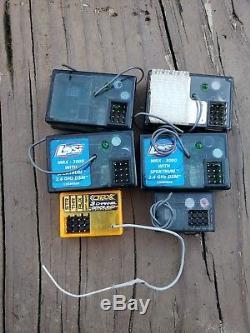 Spektrum DX3C DSM Radio Transmitter 2.4ghz 3 channel with 6 receivers