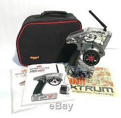 Spektrum DX3R Pro Transmitter Radio & Receiver SR3100 Manual and Case