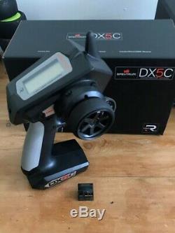Spektrum DX5C Radio with SR2100 DSMR Micro Race Rx Antenna-Less Receiver