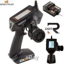 Spektrum DX5R 5-CH DSMR Transmitter with SR6000T Receiver & Radio Case