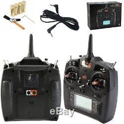 Spektrum DX6 6CH DSMX Transmitter / Radio w AR610 Receiver MD2 + Trainer Cord