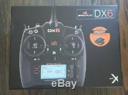 Spektrum DX6 Transmitter with AR6600T Receiver and Wireless Simulator Dongle