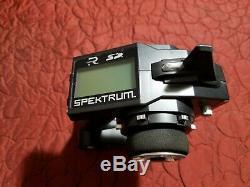 Spektrum Dx4s 4 Channel Radio Transmitter Receiver Combo Spm4010w Sr410 Receiver
