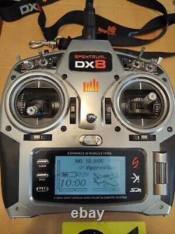 Spektrum Dx8 transmitter/receiver TX / RX radio control 2.4ghz r/c