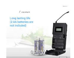 Takstar WPM-200 Wireless Monitor System LCD 1Transmitter+4Receivers For Phone PC