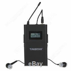 Takstar WPM-200 Wireless Stereo Monitor System 1 Transmitter+6 Receivers SET