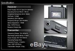 Takstar wpm-200 UHF Wireless Stage Monitor System 1 Transmitter + 2 Receivers