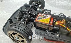 Taniya Tg-10 Tg10 Mk1 1/10 4wd Rc Arr Chassis Servos Radio Transmitter Receiver
