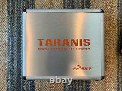 Taranis X9D Plus Frsky ACCST Radio Transmitter and Case With 3 Receivers