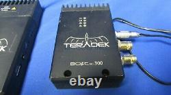 Teradek Bolt Pro 300 Wireless RX/TX Receiver/ Transmitter HDMI 3G HD with Power