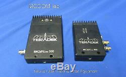Teradek Bolt Pro 300 Wireless RX/TX Transmitter-Receiver HDMI/3G HD no PS