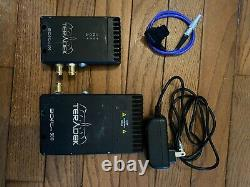 Teradek Bolt Pro 300 Wireless RX/TX Transmitter-Receiver HDMI/3G HD no cables