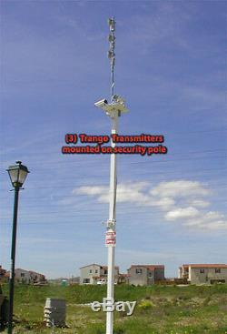 Trango Eagle 2.4GHz VRX2550 & VTX2500 Wireless A/V Receiver & Transmitter USED