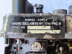 Transmitter Receiver Us Prc 8 Wwii Vietnam Jeep Radio Rc Source Rt 174/prc8