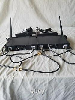 Two Line 6 XD-V55 Digital Wireless Microphone Transmitters and Receivers