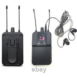 U4 Wireless in-ear monitor system for stage performance Transmitter receiver