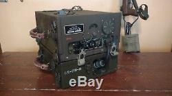 US ARMY BC-659-k SIGNAL CORPS MILITARY RADIO TRANSMITTER RECEIVER WITH CS-79-N
