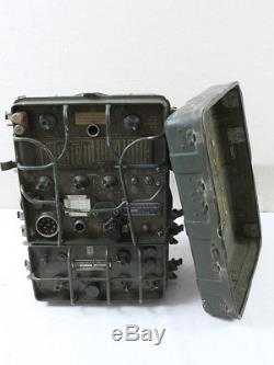 US ARMY SIGNAL CORPS JEEP FUNKGERÄT RADIO Receiver Transmitter RT-77 A / GRC-9