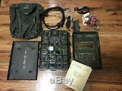 US Army RT-77/GRC-9 Receiver Transmitter Set with Many Accessories. Must Have