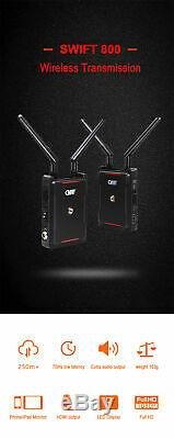 US CVW SWIFT 800 800ft Wireless System Video Transmission Transmitter Receiver