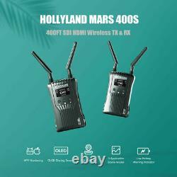 US HOLLYLAND Mars 400s Wireless HDMI SDI Video Image Transmitter Receiver 1080P