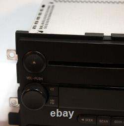 Used Factory OEM Audio Disc CD AUX Player AM FM Radio For Ford and Mercury