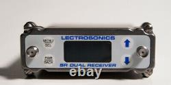 Used Lectro SRB Dual CH Receiver &(2) UM400a Transmitters withSREXT &Cables- BLK25