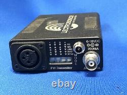 Used Lectrosonics IFB System T4 Transmitter + R1A Receiver Block 24