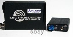 Used Lectrosonics IFB System T4 Transmitter + R1A Receiver Block 25