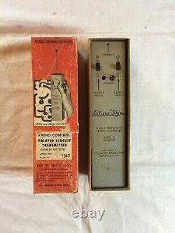 VTG 1953 Citizen-Ship Radio Corp. RC Transmitter (FLX)/Receiver (PLR) 27.255 mc