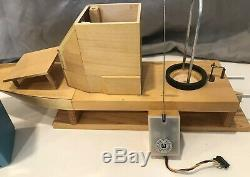 VTG 1971 MATTEL Signal Command RC Radio Transmitter & Receiver + Boat Handmade