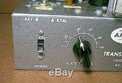Vintage AMECO AC-1 Novice QRP HAM RADIO CW TRANSMITTER untested read