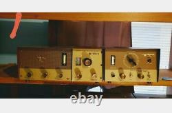 Vintage Browning Eagle R-27 Receiver & 23S-Nine Transmitter Power Working No Mic