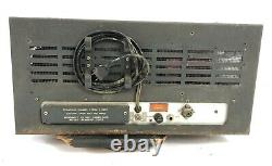 Vintage Collins 310B-1 Ham Radio Transmitter with Manual & 6 Extra Coils Untested