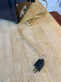 Vintage E. F. Johnson Viking Ranger HAM Radio Transmitter with Original Manual