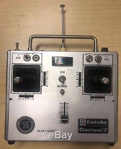 Vintage Futaba Contest 7 FP T7 Radio Controller Receiver RC