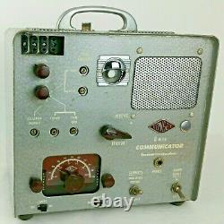 Vintage Gonset 6 Meter Communicator Transmitter-Receiver Short Wave Ham Radio