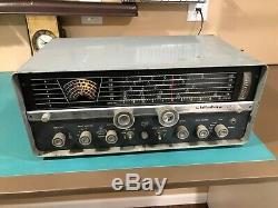 Vintage Hallicrafters Ham tube radio receiver transmitter SX-110 working clean