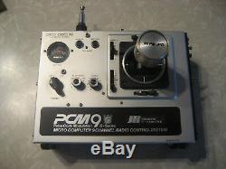 Vintage JR PCM9 SINGLE STICK TRANSMITTER RECEIVER RADIO CONTROL AIRPLANE