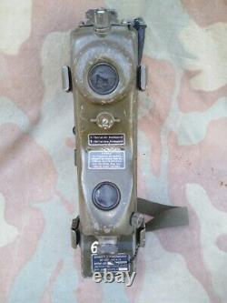 Vintage RT-196 / PRC-6 /6 Military Radio Receiver Transmitter german marched