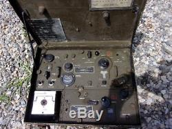Vintage Radio Receiver And Transmitter, Bc-654-a